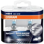 Lamparas Night Breaker Unlimited Hb4 H1 H7 + Led 5w5 Osram