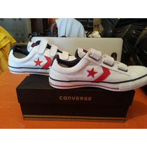 Zapatillas Converse All Star Player 3v Lona Brasil Velcro