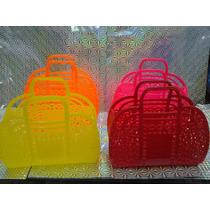 Canastas De Plástico Colores Exclusivos