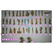 Figuras De Africanas X 10 Unidades
