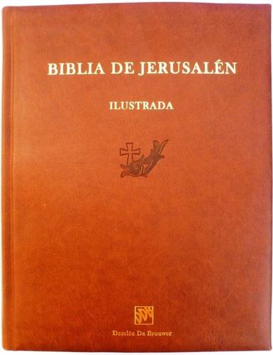 d45f6ba2082 Biblia De Jerusalén Gran Edición Ilustrada Canto Dorado Ddb