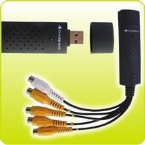 Grabadora Digital Capturadora Easy 4videos 1 Audios Usb Cctv