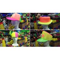 Combo 50 Gorros Sombreros Tela Fluo Carnval Carioca