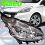 Optica Peugeot 208 Sin Led Original Valeo Derecha
