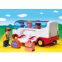 Playmobil 123 Autobus Con Pasajeros Valijas Baul 6773