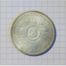 Republica Dominicana 1 Peso 1974 Conmemorativa Plata
