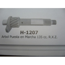H 1207 Eje De Arranque Yamaha 135 Rxz
