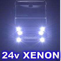 Kit De Luces Xenon 24v Planeta Camion Lo Mejor Del Mercado!