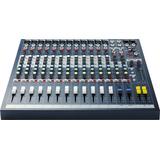Consola Soundcraft Epm12 16 Entradas Mixer Profesional Rack