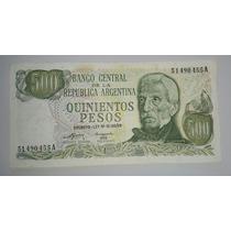 Billete 500 Pesos Ley Serie A