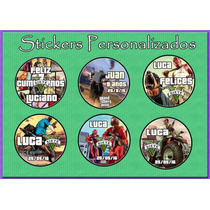 Gta Stickers - Etiquetas Escolares - Invitaciones