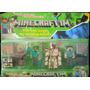 Muñecos Minecraft Articulados Y Accesorios X 4