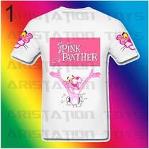 Remera Pantera Rosa Pink Panther P/niños Exclusivo Diseño