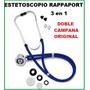 Estetoscopio Rappaport Doble Campana Y Manguera Original