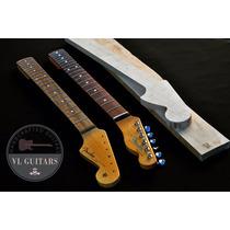 Neck Mango Stratocaster Mastil Guitarra Electrica