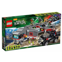 Lego 79116 Ninja Turtles Big Rig Snow - Jugueteria Aplausos