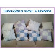 Fundas Tejidas Al Crochet + Almohadon