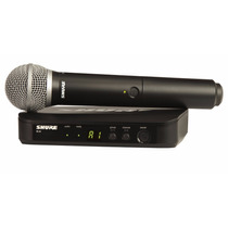 Microfono Inalambrico De Mano Shure Blx24 / Pg58