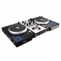 Consola Hercules Dj Air S Plus Usb Placa Audio Mixer
