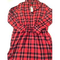 Camisa Tipo Vestido Forever21
