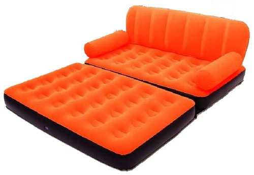 Sill n cama doble inflable 2en1 inflador el ctrico cuotas for Cama doble precio