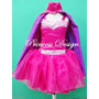 Barbie Disfraz Princesa Super Heroe Power Princess
