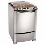 Cocina A Gas Electrolux 56stx 4 Hornallas Horno Con Grill