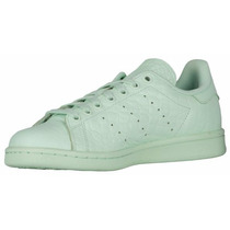Zapatillas Dama Adidas Stan - Verde Agua Numero 6.5/7 Nuevas