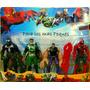 Hombre Araña Set X 4 Muñecos-todos Los Personajes De La Peli