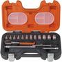 Caja Set De Bocallaves Bahco S160 Encastre 1/4 Milimetros