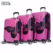 Valija Rigida Estampada Travel Tech 20 E-sotano