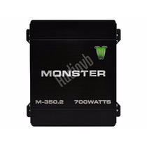 Potencia Monster 350.2 700w 2 Canales Audiovb