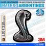 Calcomanias 3d Con Relieve, Accesorio Autos Serpiente