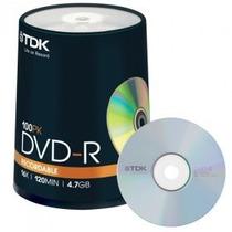 Dvd-r Tdk X 100 Unidades Oferta !
