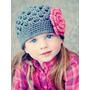 Gorros Tejidos A Crochet Hermosos Bebes Niñas Y Adolescentes