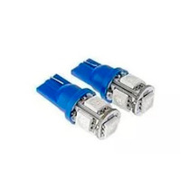 Led T10 5 W5w Leds Lampara Luz Posicion Del Auto Azul