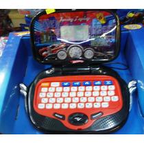 Computadora Didactica Laptop Hot Wheels 68 Actividades