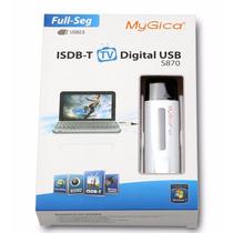 Sintonizadora Tv Tda Mygica S870 Isdb-t Stick Usb Full Seg