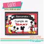 Mickey Cartel - Cartel Mickey Para Imprimir