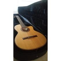 Guitarra Electrocriolla Gracia Modelo Wilde Profesional Eq