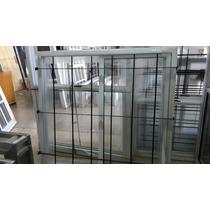 Ventana Vidrio Entero 120 X 100 C/ Rejas Somos Fabricantes