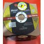 Discos Abrasivos De 115mm X 1,6 Mm P/amoladoras Corte Acero