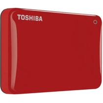 Disco Duro Externo Toshiba 1tb Canvio Connect Ii Rojo