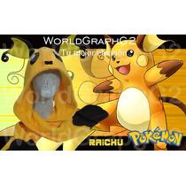 Pokemon Bufanda Capucha Raichu