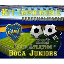 Kit Imprimible Boca Juniors Xeneize Completo Golosinas