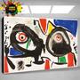 Pinturas De Miro, Arte, Laminas En Bastidor