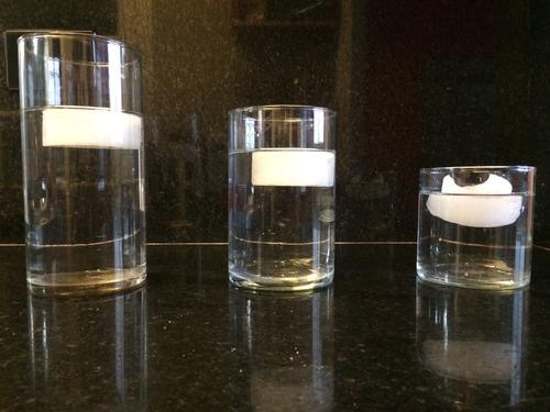 Floreros o fanales cilindros de vidrio transparente 10x15 130 ghtjz precio d argentina - Vidrio plastico transparente precio ...