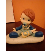 Adornos Para Nacimiento, Bautismo,comunion En Porcelana Fria
