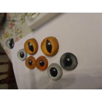 Ojos De Vidrio Para Peluches Muñecos Fursuit Personalizados