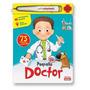 Pequeño Doctor Con Termometro Para Preguntas Ediciones Mawis